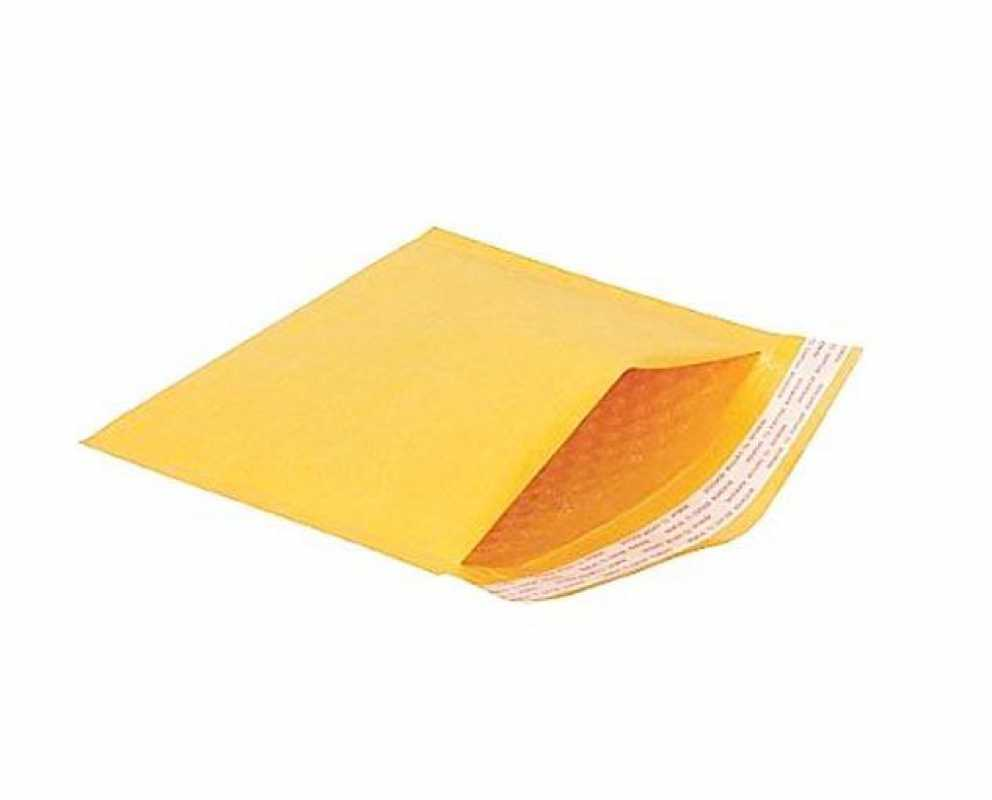 Bubble Mail Yellow Envelopes Secure Postage 265mm x 180mm Size D 3 Pack B664BLD (Large Letter Rate)